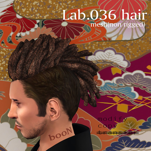 booN Lab.036 hair