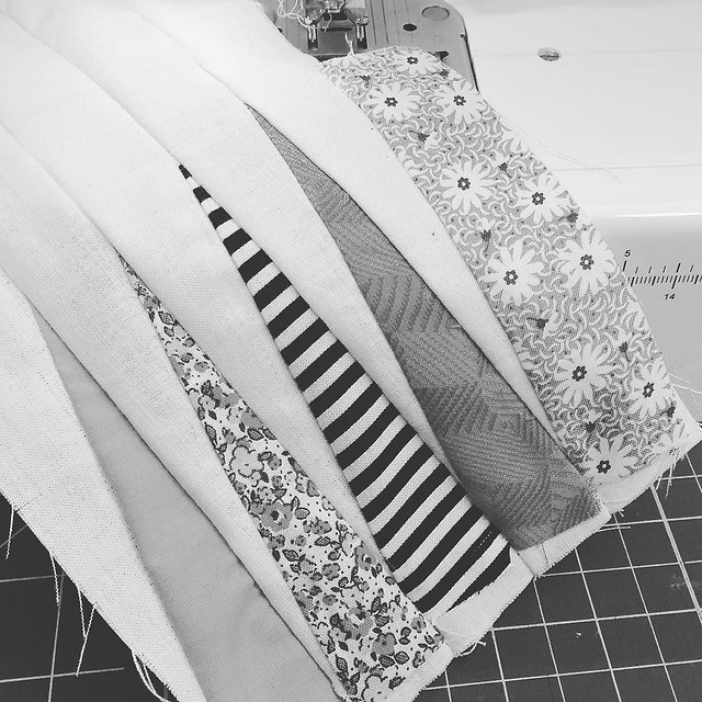 Day 57/100 #robayre100days working at the sewing machine #the100dayproject This was before a trip the fabric store and the WORLD'S SLOWEST EMPLOYEE ever cutting fabric. Literally took me 40 minutes to get my fabric cut.