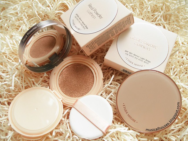 Etude House Real Powder Cushion Review BB