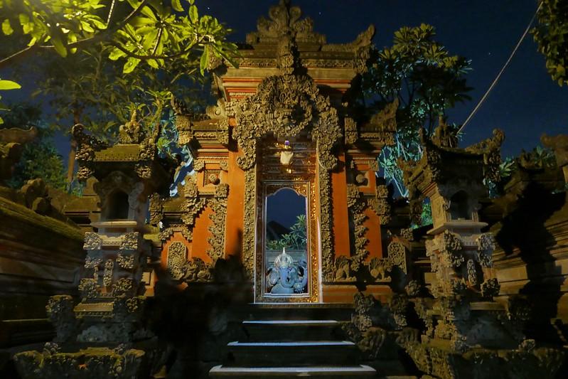 Typischer Hauseingang in Ubud