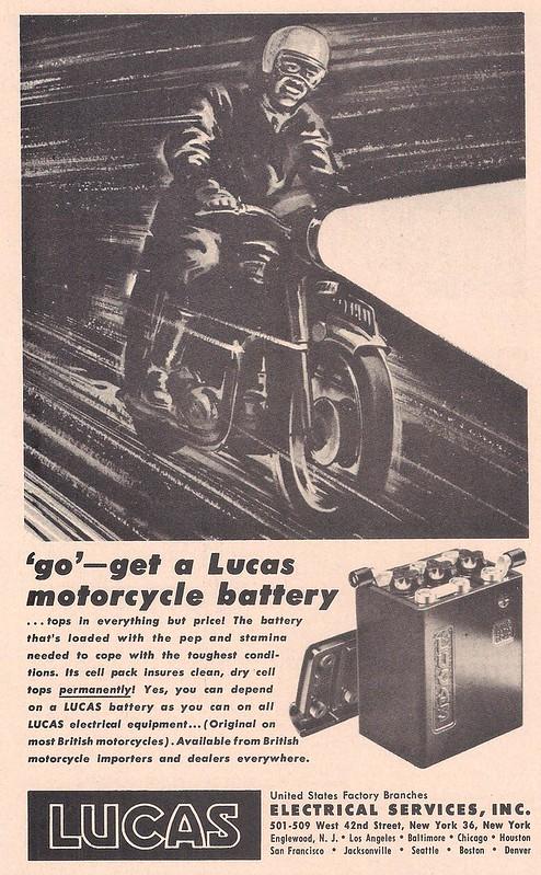 Lucas batteries