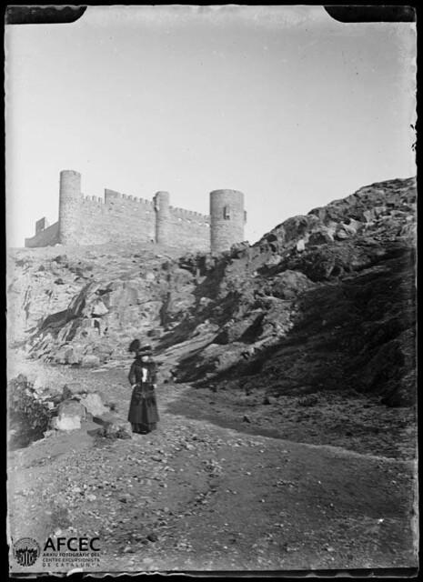 Castillo de San Servando en Toledo a comienzos del siglo XX. Autor Desconocido   © Centre Excursionista de Catalunya
