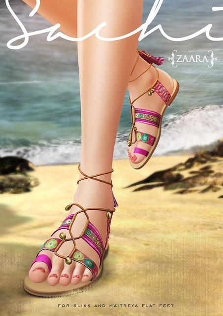 Zaara : Sachi boho sandals for C88