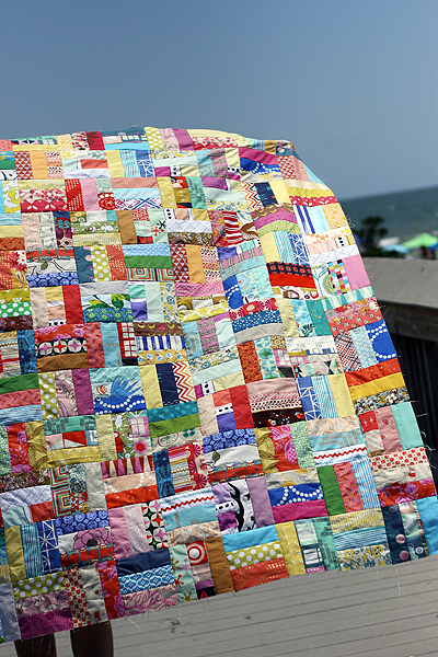 Rail Fence quilt {project}
