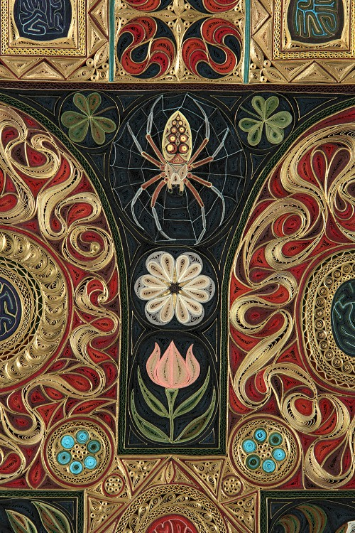Gospel by Lisa Nilsson - Top Quilled Detail