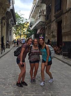 Isabel & Kate in Cuba