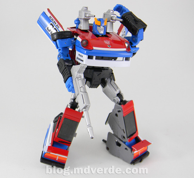 Transformers Smokescreen - Masterpiece - modo robot