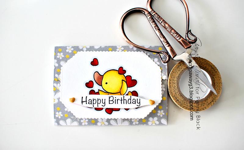 Happy Birthday Duckie pocket