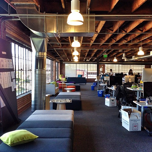 Pinterest office in san francisco great workplace arch for Office design archdaily