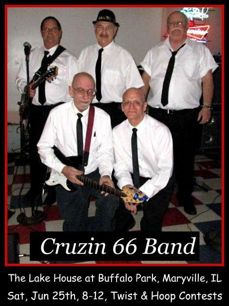Cruzin 66 Band 6-25-16