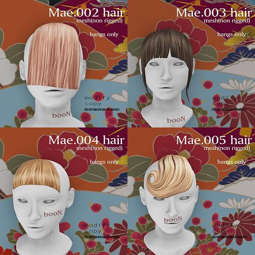 *booN Mae hair!!