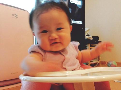 マホさん ベビー生後6か月