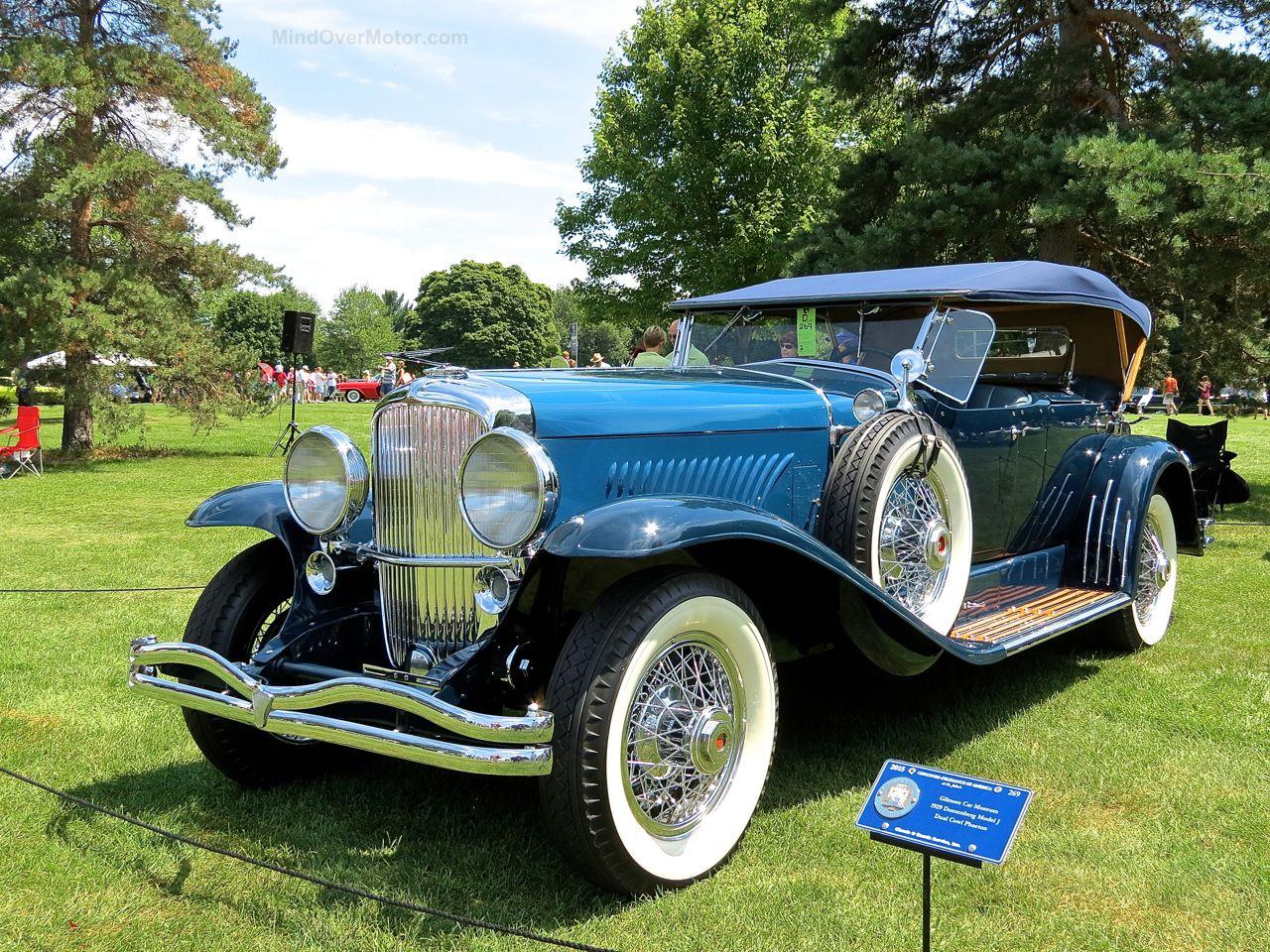 1929 Duesenberg Model J Concours of America