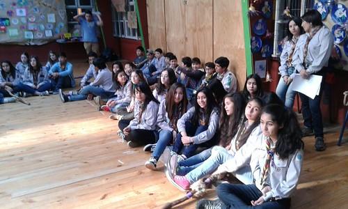 GRUPO SCOUT HUEIHUEN:9º ANIVERSARIO