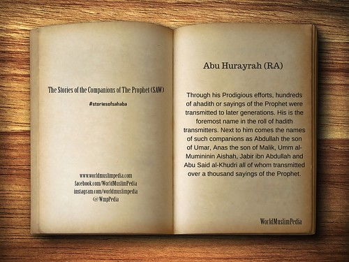 Abu Hurayrah (RA)