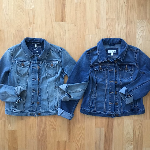 LOFT Denim Jackets