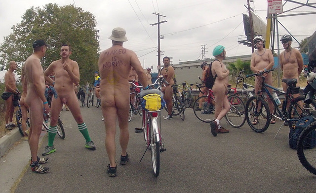 LA World Naked Bike Ride (661b)