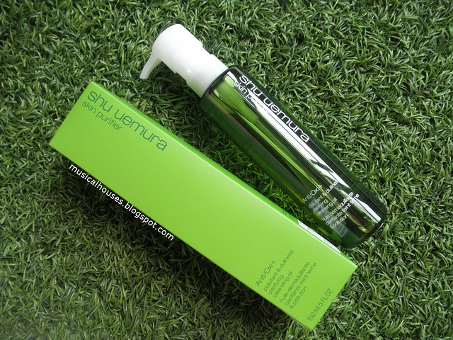 Shu Uemura Anti Oxi Review Cleansing Oil