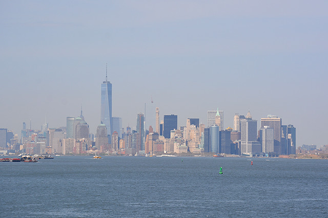 Manhattan skyline from Staten Is
