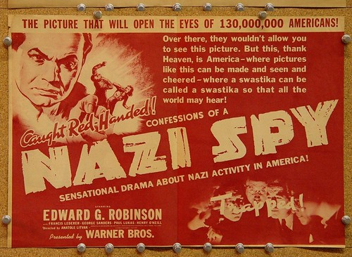 Confessions of a Nazi Spy - Poster 11
