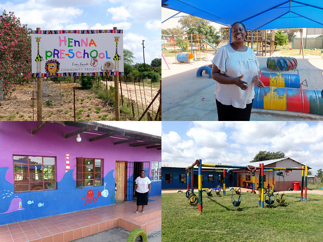 Henna Pre-School, Lion Sands Community Project