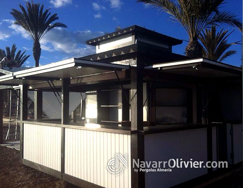 Chiringuitos casetas y kioscos de madera flickr for Kioscos bares de madera somos fabricantes