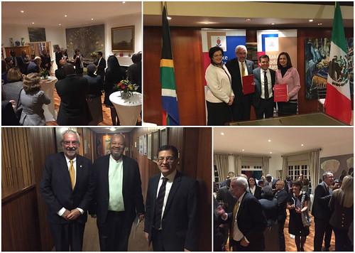 La Embajada de México en Sudáfrica ofrece recepción oficial en honor del Rector de la UNAM
