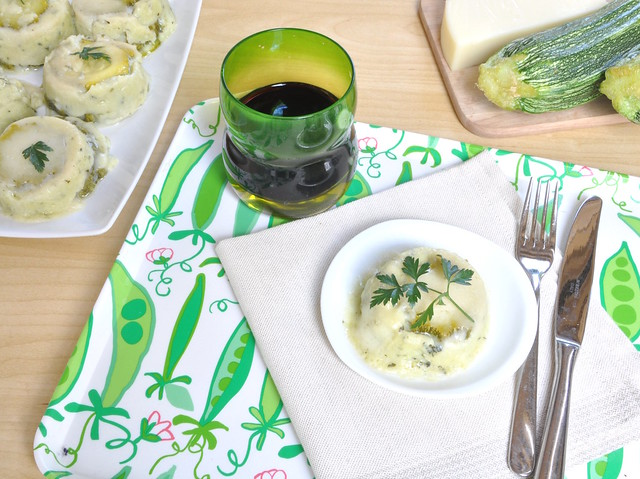 Parmigiana di Zucchine Bianca Bimby