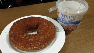 Crumb's Doughnut and cereal
