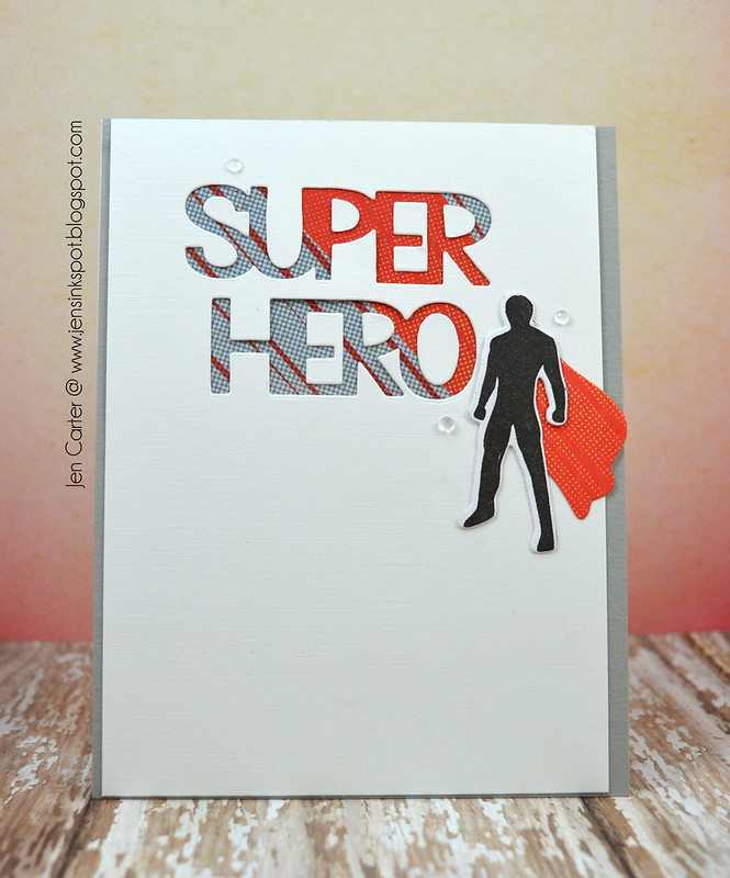 Jen Carter Super Hero Man Front