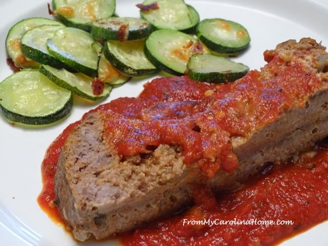 Italian Meat Loaf ~ From My Carolina Home