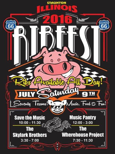 Staunton Ribfest 7-9-16