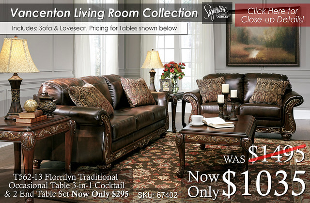 Vanceton Living Room Collection