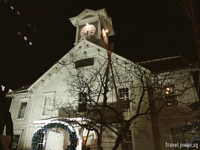 sapporo clock tower - travel.joogo.sg