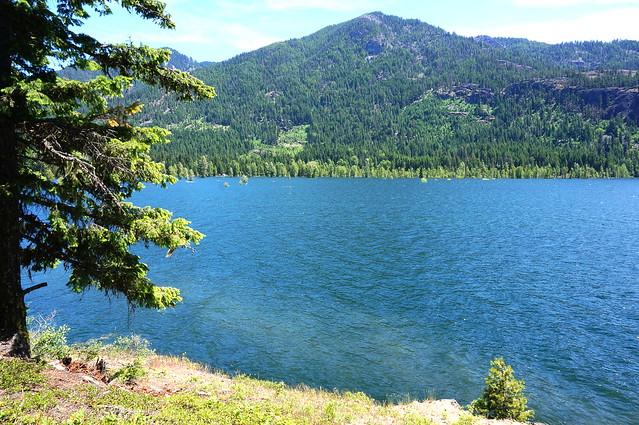 high lake water
