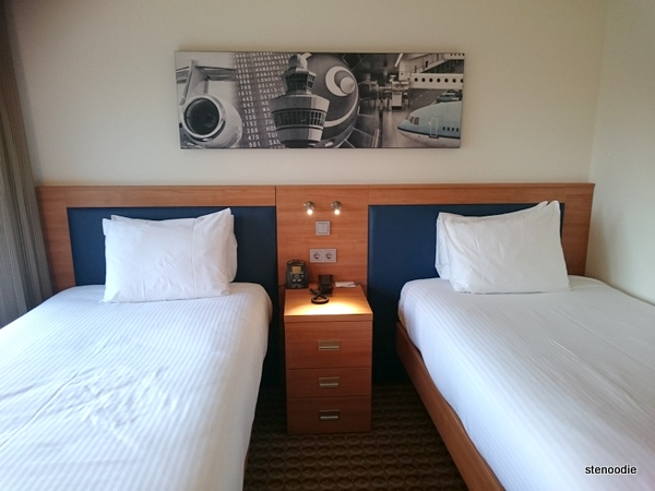 Hampton by Hilton Amsterdam Airport Schiphol beds