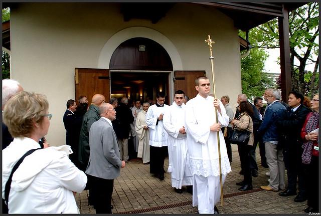 Le cinquantenaire de l'AETA, la cérémonie religieuse.