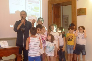 """Noicattaro. Premiazione progetto """"A scuola di rifiuti"""" front"""