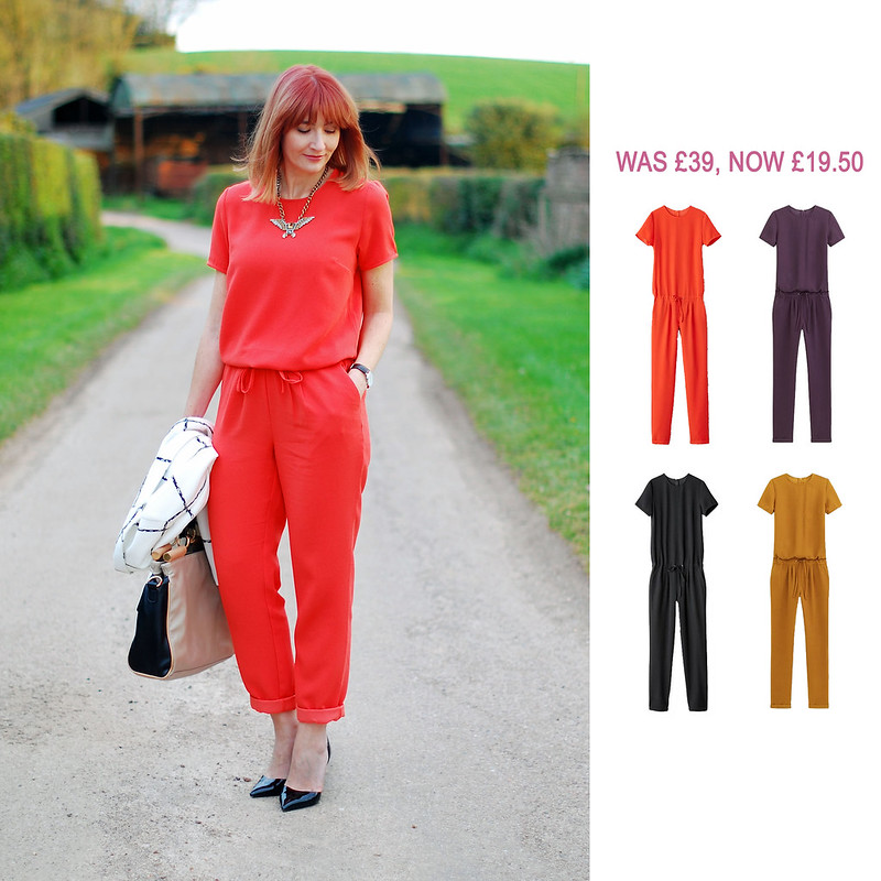 Summer Sales Picks SS16 - La Redoute orange, purple, black, yellow jumpsuit | Not Dressed As Lamb
