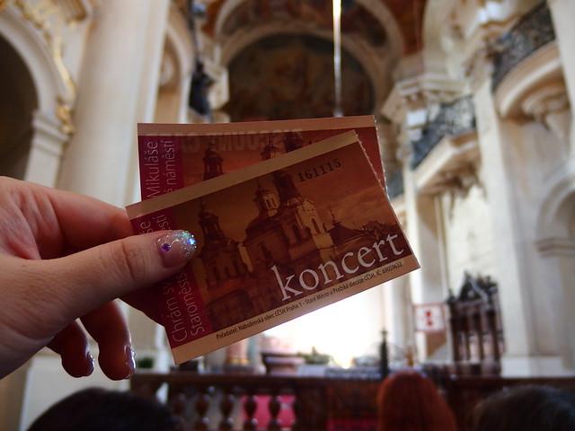 プラハの教会コンサート