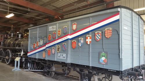 French Gratitude Train Car
