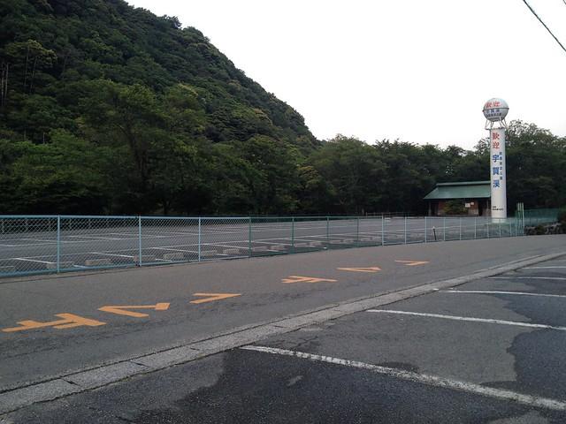 竜ヶ岳 宇賀渓キャンプ場 駐車場