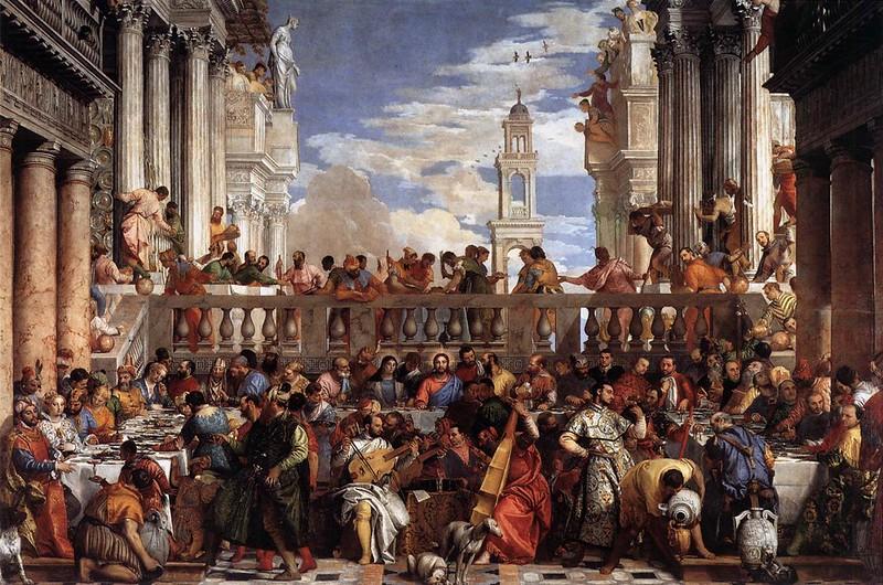 As BOdas de Canaa - Veronese - Louvre