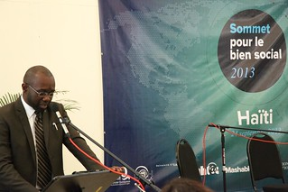 24.09.13 - Intervention de Aboubacar Touré | by PNUD HAITI Photostream