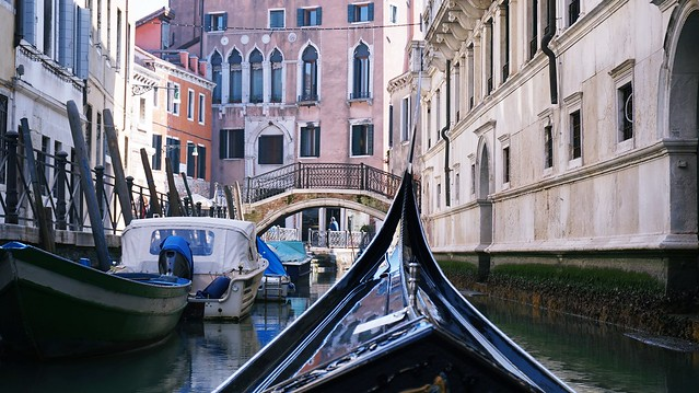 Gondole in Venice, Italia