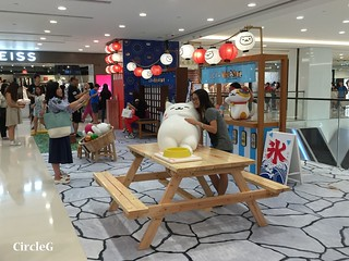CIRCLEG 香港 遊記 尖沙咀 海港城  LCX NEKO ATSUME 悠遊夏祭 JAPANESE SUMMER FESTIVAL 貓 IPHONE GAME APP (20)