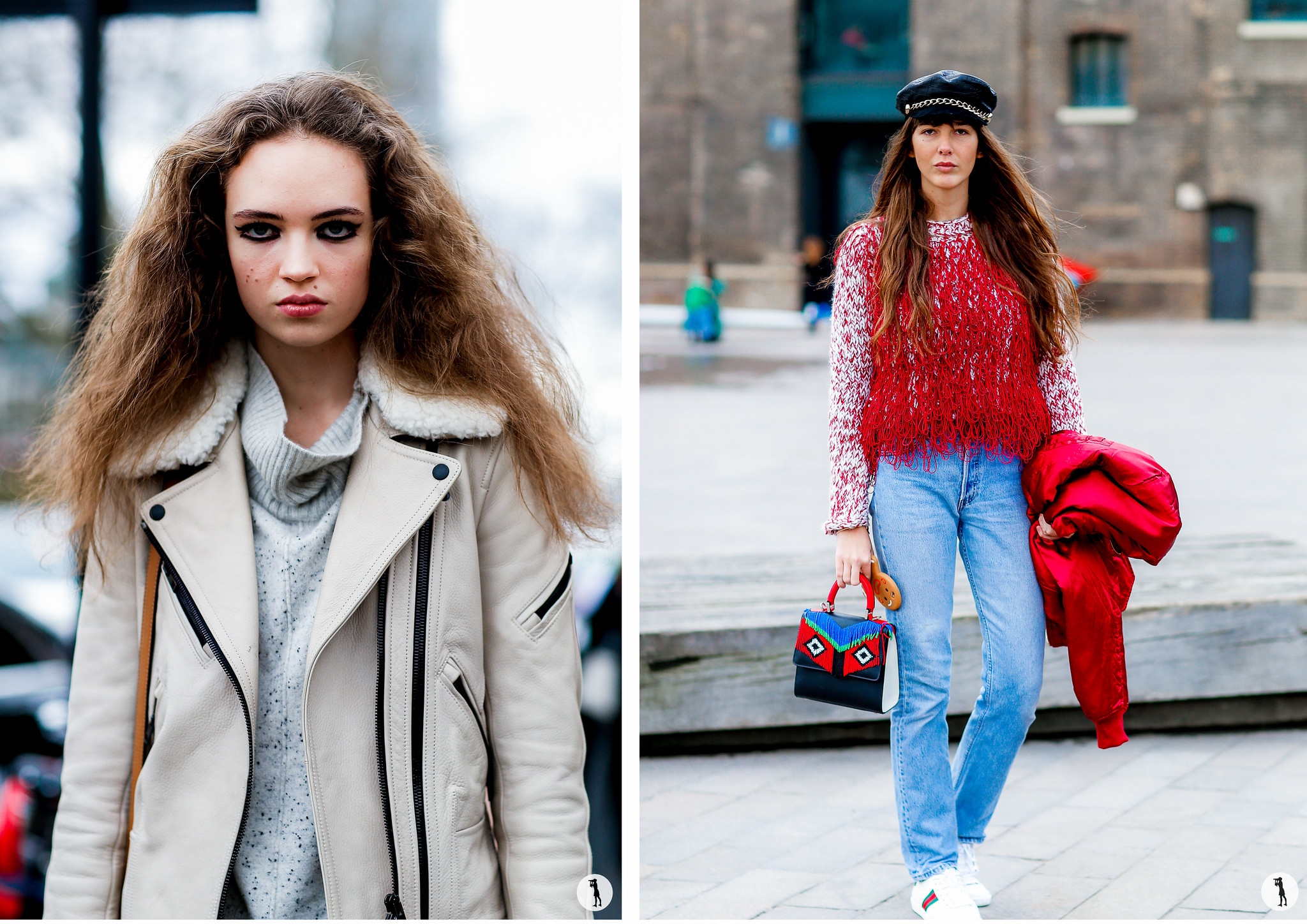 Street style London Fashion Week FW16-17