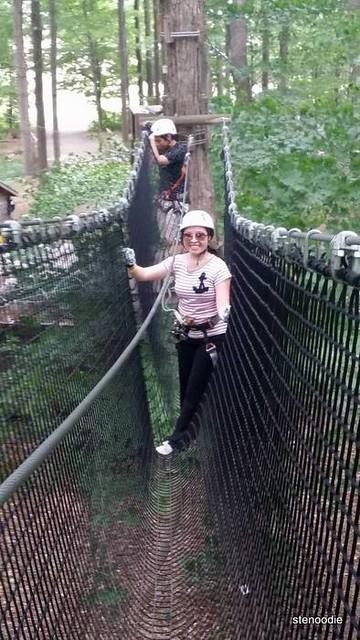 treetop trekking nets Stouffville