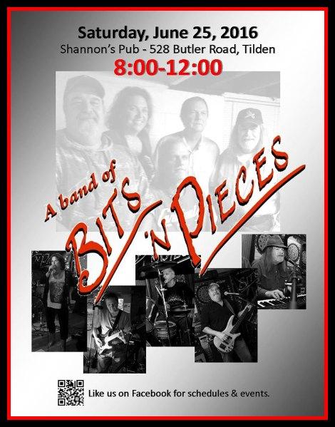 Bits 'n Pieces 6-25-16