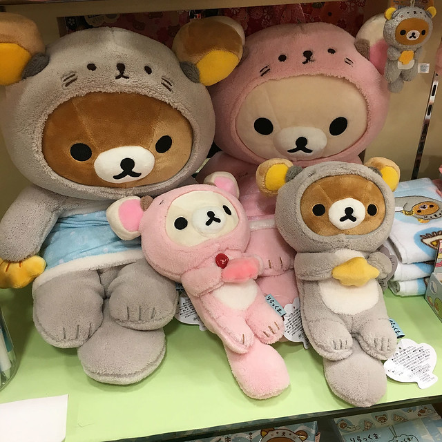 Sea Otter Rilakkuma at Kiddyland Odaiba
